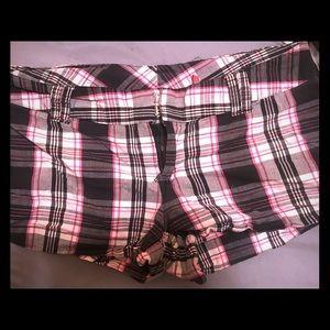 Pants - Women's Plaid Shorts
